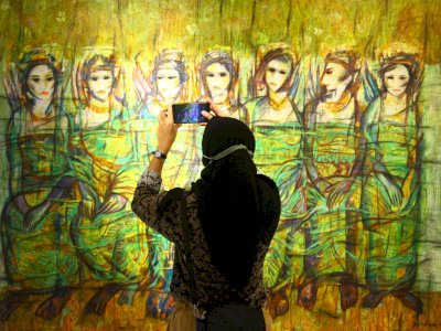FOTO: Pameran Seni Bertajuk Spirit From The East#2