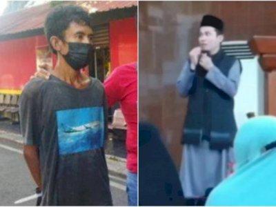 Sembuh dari Gangguan Jiwa, Penyerang Ustaz di Batam Jadi Tersangka!