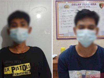 Kenalan Lewat Aplikasi, Dua Pemuda di Lampung Ditangkap Usai Cabuli Gadis di Bawah Umur