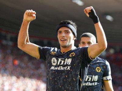 Pulih dari Cedera Tengkorak, Raul Jimenez Cetak Gol Kemenangan Wolves