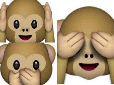 Sering Pakai Emoji Monyet Menutup Mata? Ternyata Ini Maknanya
