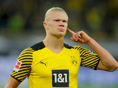 Haaland Diisukan Cabut Tahun Depan, Bos Dortmund: Omong Kosong