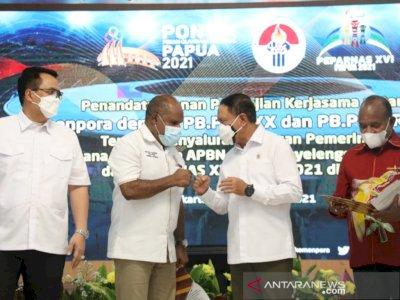 Kemenpora Berikan Dana Tambahan Rp831 Miliar untuk PON dan Peparnas Papua
