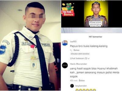 Viral Satpam Hina Polisi Brimob yang Tewas di Papua: Hasil Sogok Bisa Husnul Khatimah?
