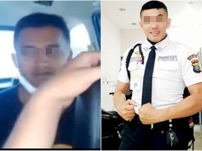 Hina Polisi Brimob yang Gugur di Papua, Satpam HM Ditangkap Brimob, Mukanya Pucat Pasi