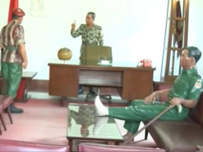 Letjen Dudung Akui Tak Bisa Menolak Patung Soeharto-AH Nasution Diambil Sang Penggagas