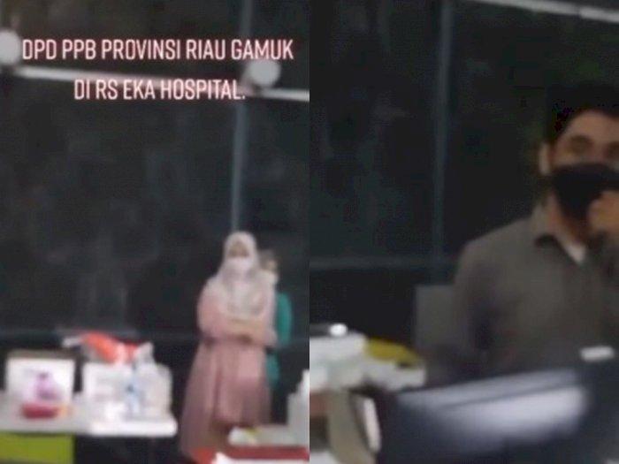 Diduga Palsukan Hasil PCR, Anggota DPD Ini Ngamuk ke Petugas Rumah Sakit di Pekanbaru Riau