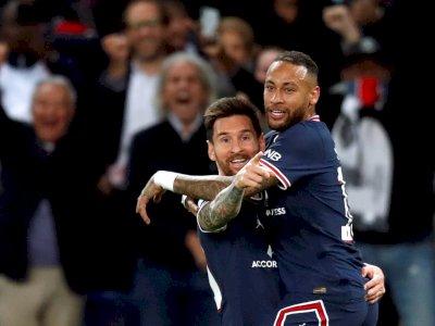 Lionel Messi 'Pecah Telur', Cetak Gol Perdana untuk PSG: Ini Malam yang Sempurna