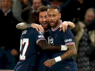 FOTO: Liga Champions, Paris Saint-Germain vs Manchester City 2-0