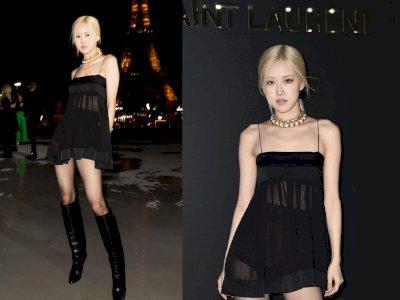 Hadiri Paris Fashion Week, 3 Hal dari Rose BLACKPINK Ini Jadi Sorotan