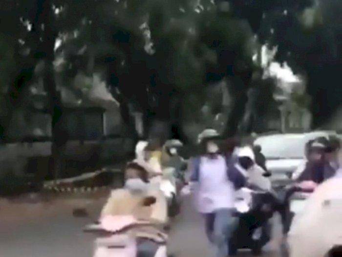 Pemkot Jaksel Usut Tawuran Pelajar hingga Bikin Macet Jalan di Lenteng Agung