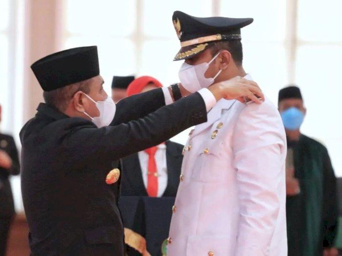 Lantik Rizky Sitepu Jadi Wakil Wali Kota Binjai, Edy Rahmayadi Titip Pesan Jaga Kesetiaan
