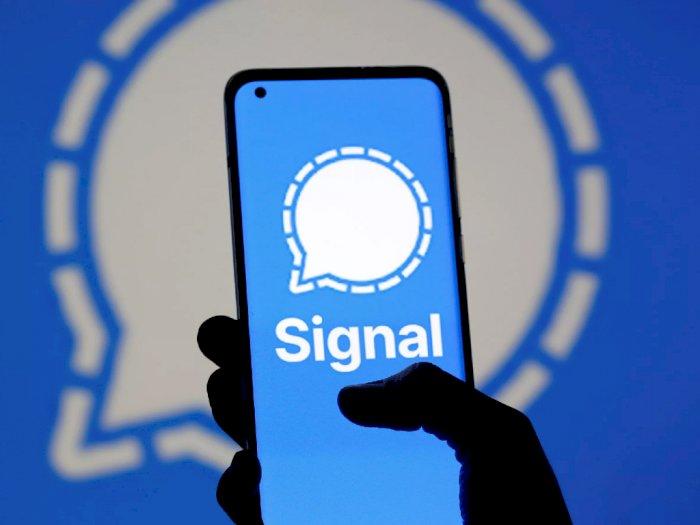 Berkat WhatsApp Down, Signal Kini Kedatangan Jutaan Pengguna Baru