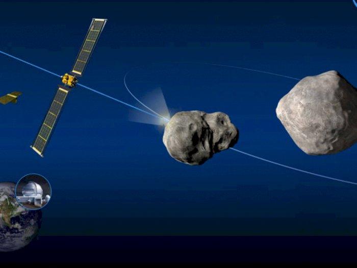 NASA Akan Tembakkan Roket ke Asteroid untuk Menguji Pertahanan Bumi