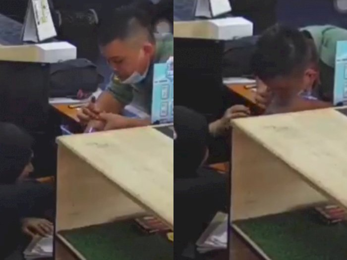 Viral Video Anggota Militer Menghisap Paksa Jari Gadis 18 Tahun, Bikin Netizen Geram
