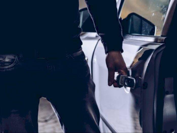 Modus Menginap, Pria Ini Larikan Mobil Pacarnya Sendiri