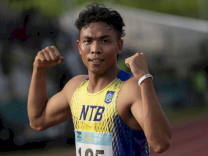 PON Papua: Muhammad Zohri Koleksi Emas Kedua dari Nomor Lari 200 Meter Putra