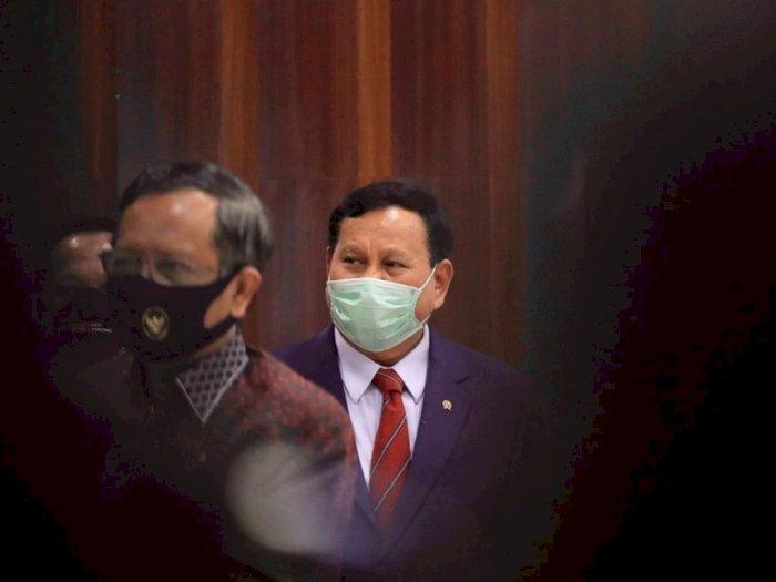 Ramai Prabowo Bakal Nyapres  Lagi, Dasco: Belum Ada Sikap Resmi