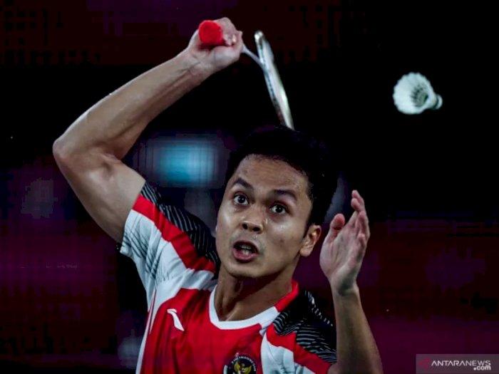Piala Thomas: Anthony Ginting Bawa Indonesia Pimpin 1-0 Atas Taiwan