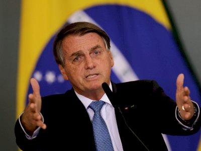 Dinilai Tak Masuk Akal, Presiden Brasil Jair Bolsonaro Tegaskan Tak Akan Vaksin Covid-19