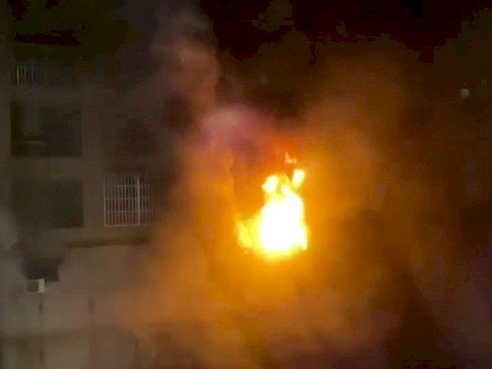 Kebakaran Gedung 13 Lantai di Taiwan, Berikut Foto-fotonya