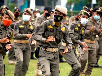 Satpol PP DKI Jakarta Dianjurkan Beli Produk PKL  Setiap Jumat
