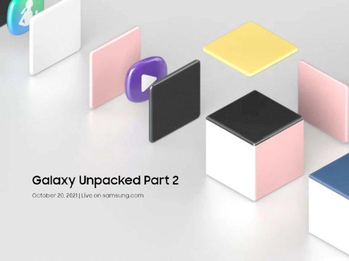 Samsung Umumkan Event Galaxy Unpacked Part 2 yang Digelar 20 Oktober Nanti!