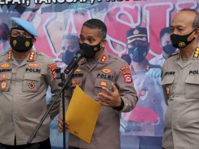 Polisi yang 'Smackdown' Pendemo di Tangerang Ditahan