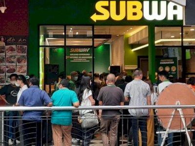 Viral Kerumunan di Gerai Subway Citos, Satpol PP DKI Langsung Ngecek