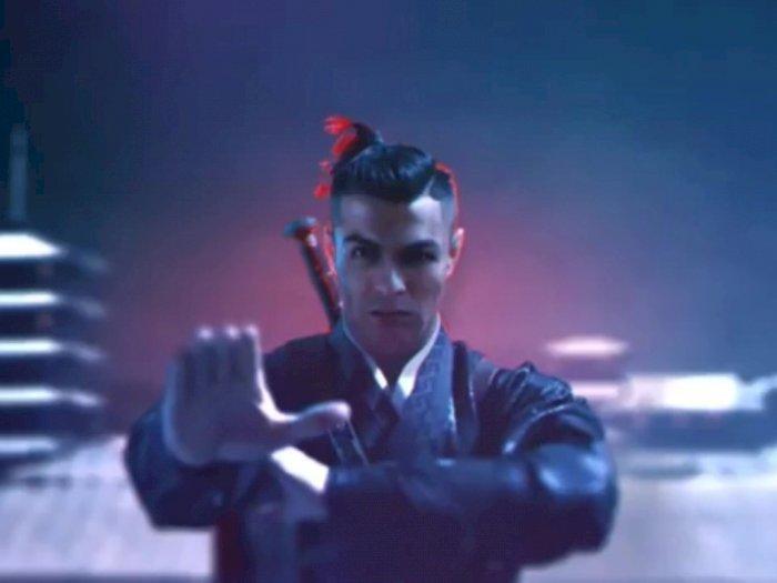 Cristiano Ronaldo Lawan Ninja di 'Iklan Aneh' yang Promosikan Bisnis Barunya