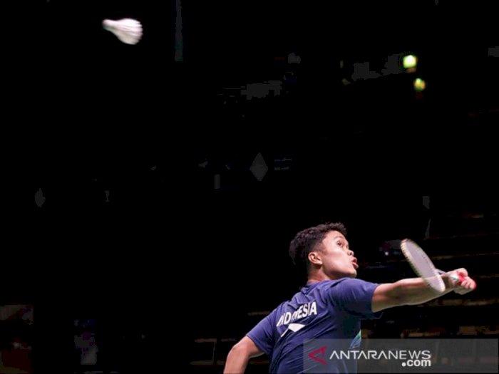 Permainan Agresif Kunci Kemenangan Ginting saat Hadapi Lee Zii Jia