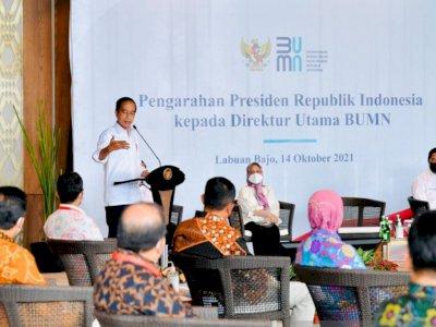 Kembangkan Model Bisnis Baru, Presiden Jokowi Minta BUMN Bermitra dengan Perusahaan Global