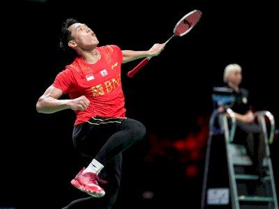 Jonatan Christie Menang Lawan China, Indonesia Raih Piala Juara Thomas