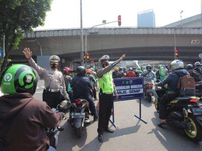 Ingat! Gage di Jakarta Mulai Hari Ini Berlaku di ke Aturan Lama