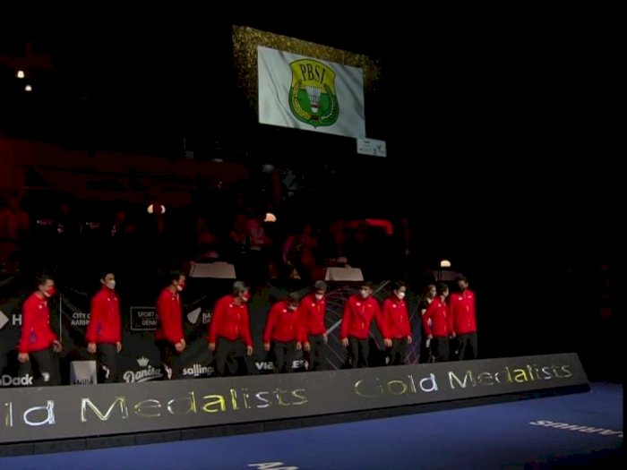 Sedih! Indonesia Juara Tanpa Kibaran Merah Putih di Piala Thomas, Diganti Bendera PBSI