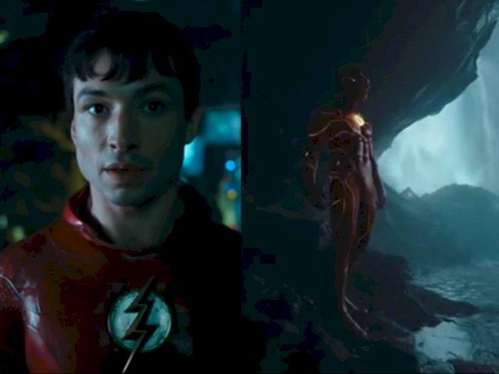 Cuplikan Pertama 'The Flash' Dirilis, Ada Penampakan Kostum Baru dan Sosok Batman