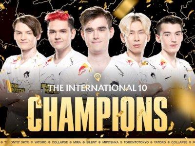 Team Spirit Juara DOTA2 The International 2021 Setelah Kalahkan PSG.LGD