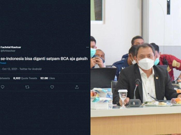 Netizen yang Tulis 'Polisi Diganti Satpam BCA' Diancam  Oknum, NasDem: Tindak Tegas