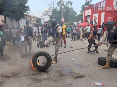 Protes Penculikan di Haiti, Berikut Foto-fotonya