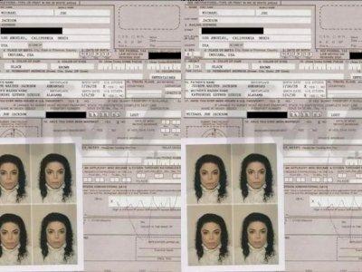 Dokumen Paspor Michael Jackson Dilelang, Laku Rp1  Miliar