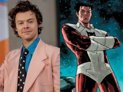 Harry Styles Gabung MCU Berperan Sebagai Eros, Saudara dari Thanos