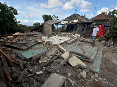 Dampak Gempa Bumi di Bali, Berikut Foto-fotonya