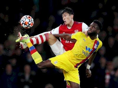 Liga Inggris: Arsenal Ditahan Imbang Crystal Palace 2-2, Ini Foto-fotonya