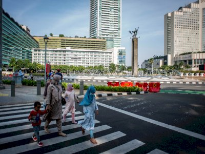 Semula Level 3, Kini PPKM di DKI Jakarta Turun Menjadi  Level 2