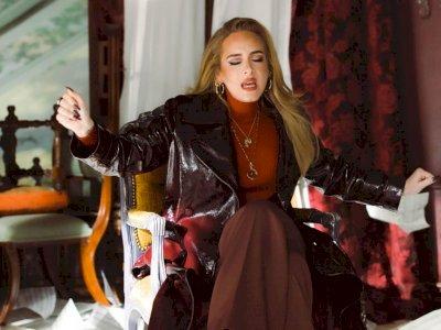 Baru Dirilis, Single 'Easy On Me' Adele Tembus Billboard Hot 100
