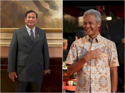 Survei CPCS Elektabilitas Menuju Pilpres 2024: Ganjar Ungguli Prabowo