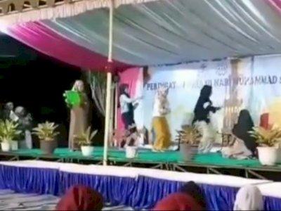 Viral Video ABG Joget TikTok di Atas Panggung saat Rayakan Maulid Nabi, Diduga Karena Ini