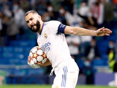 Modric Berharap Benzema Menang Ballon d'Or Tahun Ini