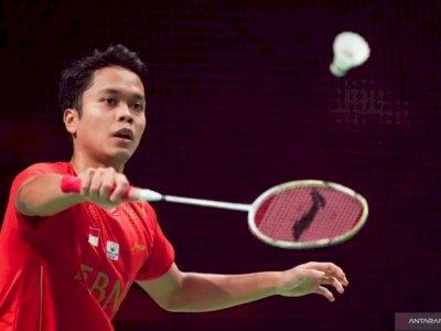 Denmark Open: Ginting Cedera Pinggang, Hendra/Ahsan Tumbang
