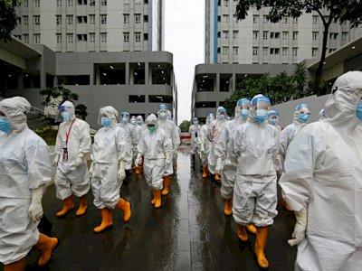 Menurun, Keterisian RS Covid-19 Jakarta Kini Tinggal 7 Persen, ICU 18 Persen